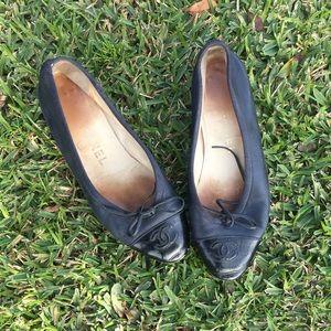 Authentic Vintage Chanel Flats